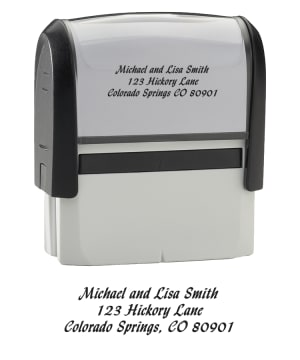 Calligraphy - Return Address Stamp – click to view product detail page