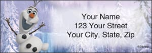 Disney's Frozen Address Address Labels – click to view product detail page