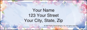 In Full Bloom by Kathy Davis Address Labels – click to view product detail page
