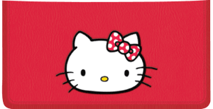 Enlarged view of Hello Kitty® Checkbook Cover