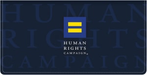 Human Rights Campaign Checkbook Cover – click to view product detail page