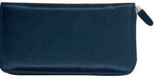Elite Microfiber Zippered Checkbook Cover – click to view product detail page