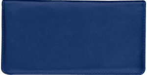 Navy Side Tear Checkbook Cover – click to view product detail page