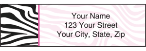 Neon Safari Address Labels – click to view product detail page
