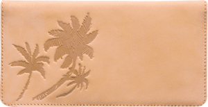 Palm Trees Checkbook Cover – click to view product detail page