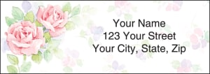 Rosewood Address Labels – click to view product detail page