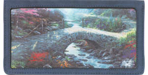 Serenity by Kinkade Side Tear Checkbook Cover – click to view product detail page
