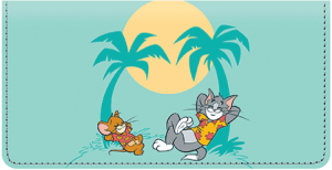 Tom and Jerry Checkbook Cover – click to view product detail page