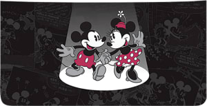 Disney Vintage Mickey and Minnie Side Tear Checkbook Cover – click to view product detail page