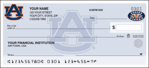 Auburn Logo Checks – click to view product detail page