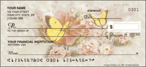Butterfly Blooms Checks – click to view product detail page