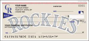 Enlarged view of Colorado Rockies™ Checks
