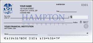 Hampton University Pirates Checks – click to view product detail page