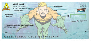 Enlarged view of The Justice League Checks