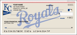 Kansas City Royals™ Checks – click to view product detail page