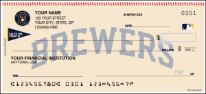 Milwaukee Brewers™ Checks – click to view product detail page