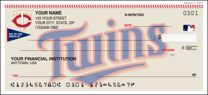Enlarged view of Minnesota Twins™ Checks