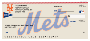 New York Mets™ Checks – click to view product detail page