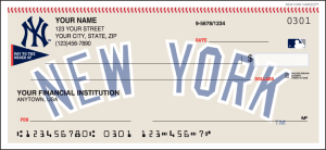 New York Yankees™ Checks – click to view product detail page