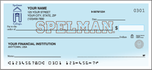 Spelman College Jaguars Checks – click to view product detail page