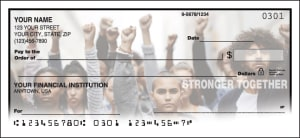 Stronger Together Checks – click to view product detail page