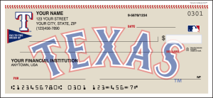 Enlarged view of Texas Rangers™ Checks