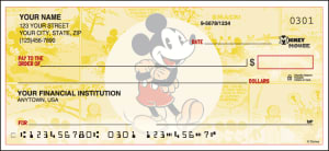 Side Tear - Disney Vintage Mickey Checks – click to view product detail page