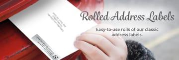 Rolled Address Labels