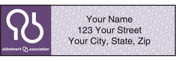 Alzheimer's Association Address Labels – click to view product detail page