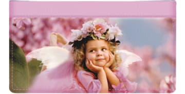 Angel Faces Checkbook Cover – click to view product detail page