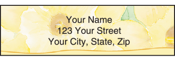 beautiful blessings address labels - click to preview