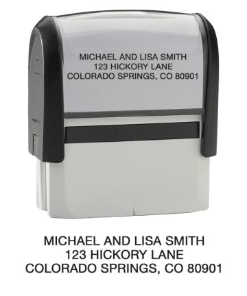Standard- Return Address Stamp - click to view larger image