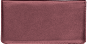 Burgundy Side Tear Checkbook Cover – click to view product detail page