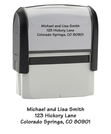 Contemporary - Address Stamp - click to view larger image