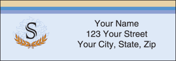 country club address labels - click to preview