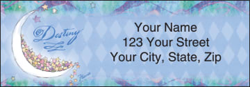 Flavia® Celestial Address Labels - click to view larger image