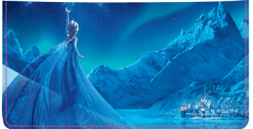 Disney Frozen Checkbook Cover - click to view larger image