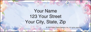 In Full Bloom by Kathy Davis Address Labels - click to view larger image