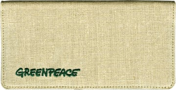 Greenpeace Checkbook Cover – click to view product detail page
