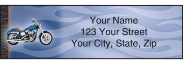 Harley-Davidson Address Labels – click to view product detail page