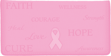 Hope for the Cure Side Tear Checkbook Cover – click to view product detail page