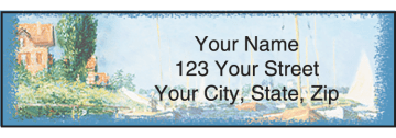 Impressionist Address Labels - click to view larger image