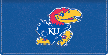 Kansas Logo Checkbook Covers - click to view larger image
