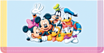 Disney Mickey's Adventures Side Tear Checkbook Cover – click to view product detail page