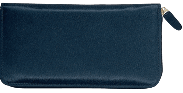 Elite Microfiber Zippered Checkbook Cover - click to view larger image