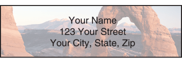 National Parks Address Labels - click to view larger image