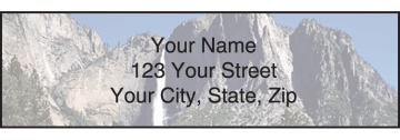 national parks address labels - click to preview