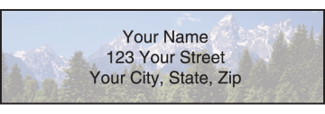 Nature's Majesty Address Labels – click to view product detail page