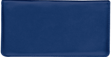 Navy Checkbook Cover – click to view product detail page