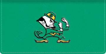 Notre Dame Logo Checkbook Covers - click to view larger image